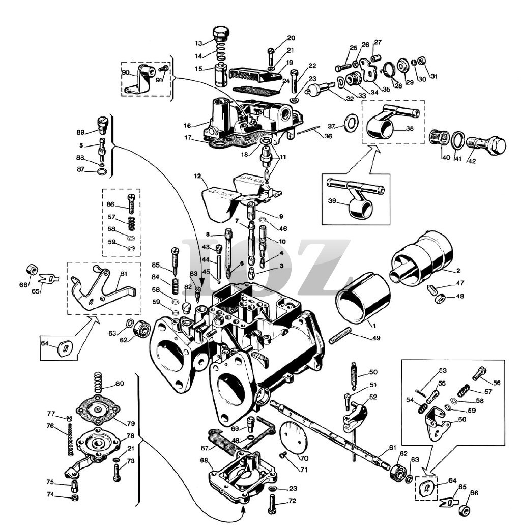 dellorto carb parts